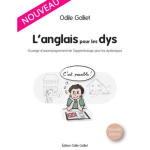 Livre pour apprendre l'anglais : L'anglais pour les Dys – Nouvelle édition